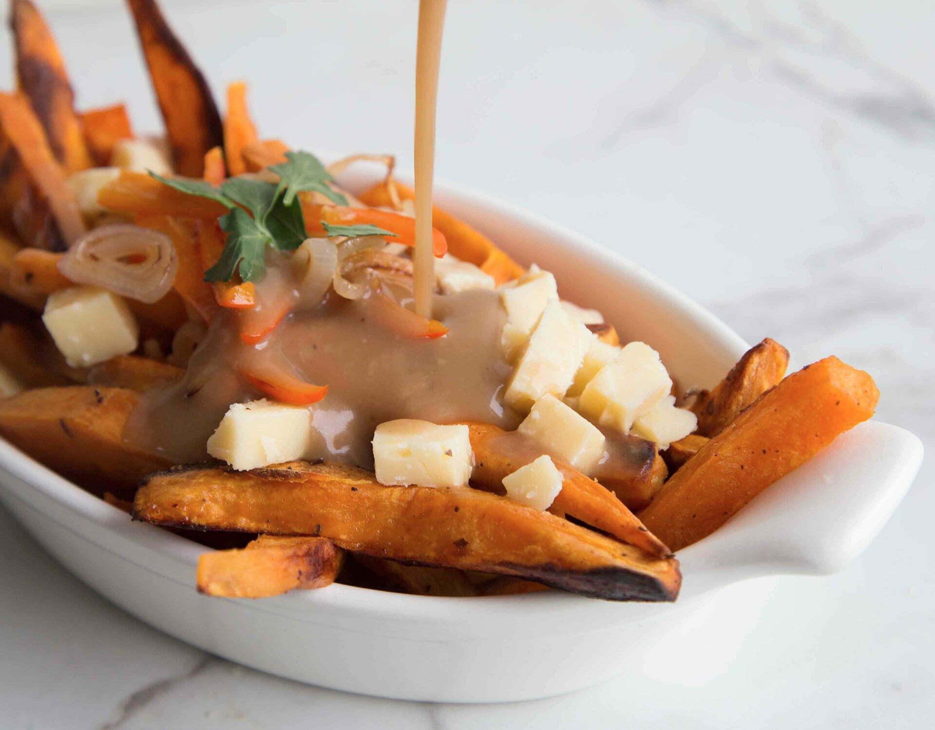 poutine patate douce