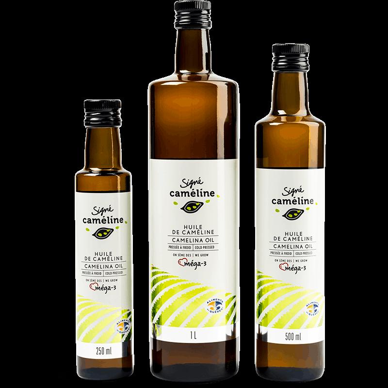 huile de caméline vierge